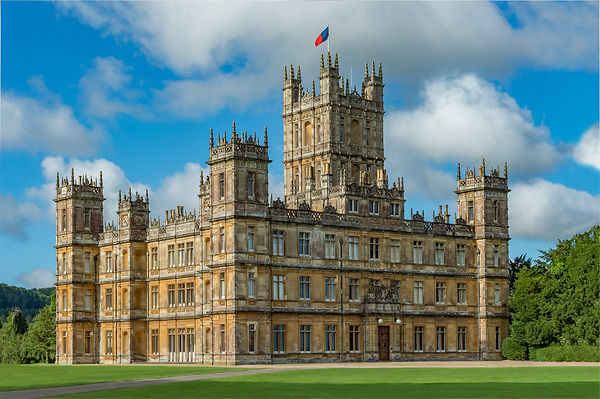 Highclere Castle in England