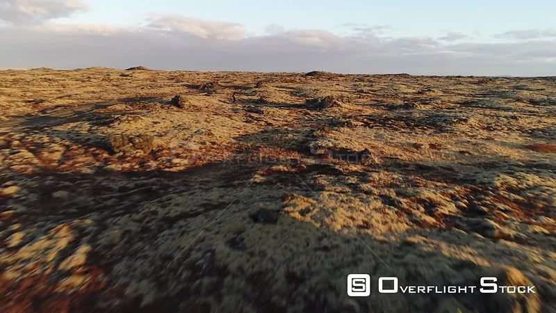 Drone Video Scenic Nature Landscape Iceland