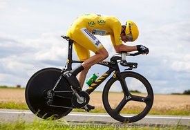 Yellow Jersey- Bradley Wiggins - Tour de France 2012
