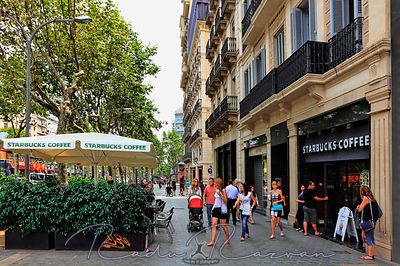 Starbucks Coffee in Barcelona