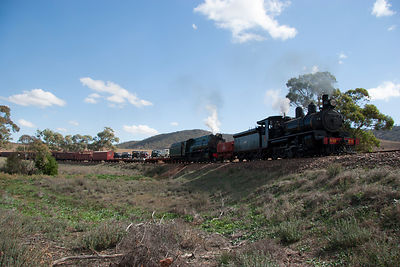 The NM25 and Justin Hancock steam engines