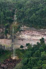 Kaieteur Gorge, Kaieteur Falls is the world's widest single drop waterfall, located on the Potaro river in the Kaieteur Natio...