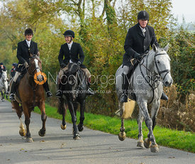 Nick Townsend on Cold Overton Road - The Cottesmore at Langham.