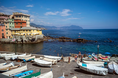 The Seafront At Boccadasse