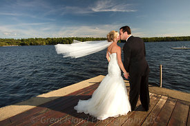New Hampshire Lake Wedding
