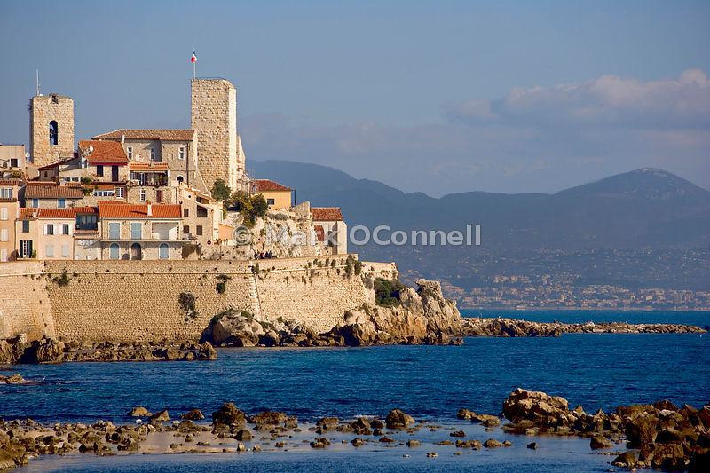 Antibes waterfront France
