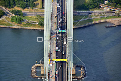 Verrazano Toll Bridge Brookyn New York