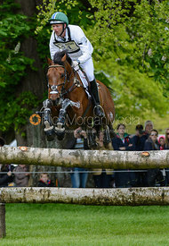 Clark Montgomery and UNIVERSE - Cross Country phase, Mitsubishi Motors Badminton Horse Trials 2014