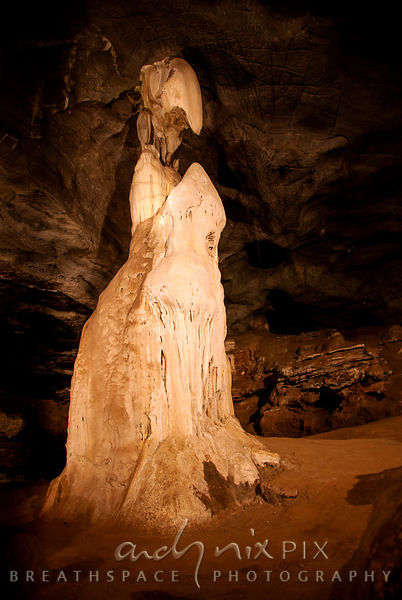 Sudwala Caves: Alien stalicmite cave feature