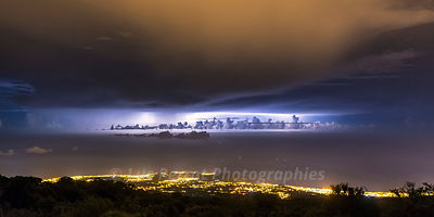 Orages sur Saint-Paul