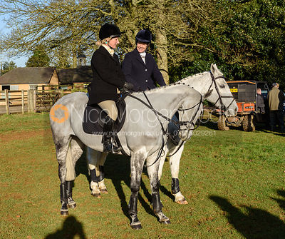 At the Cottesmore Hunt meet at Pickwell Manor 8/1