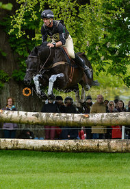 Andrew Nicholson and QUIMBO - Cross Country phase, Mitsubishi Motors Badminton Horse Trials 2014
