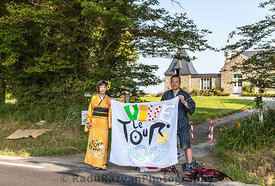 Japanese Fans of Le Tour de France