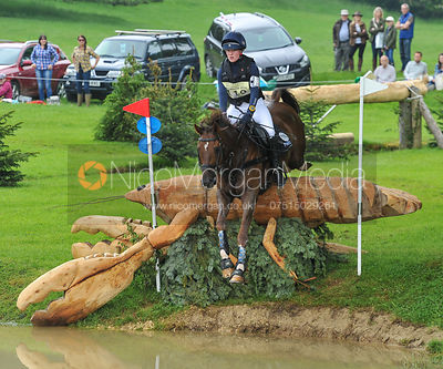Libby Seed and WHAT A CATCH II - CCI***U25 - EquiTrek Bramham International Horse Trials 2016