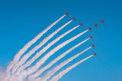 Red Arrows Swan formation