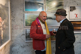 SAM St.Moritz Art Masters 2013 Vernissage Rolf Sachs Camera in Motion