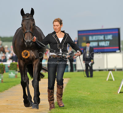 Kerry Varley and Bluestone Luke - 2nd Inspection - Burghley 2010