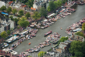 Amsterdam - Luchtfoto Canal Parade 21