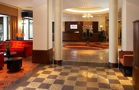 Regents Park Marriott Hotel, London.