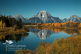 Oxbow Bend in Autumn 2