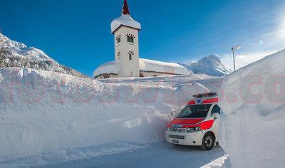 REO in Winter in the Engadin