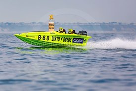 Dirty Deeds, B88, Fortitudo Poole Bay 100 Offshore Powerboat Race, June 2018, 20180610231