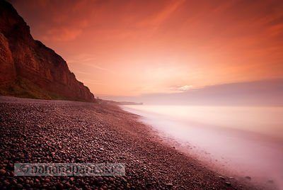 The beach at Budleigh Salterton - BP1334