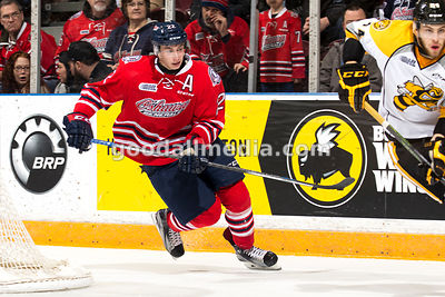 Oshawa Generals vs Sarnia Sting  January 17, 2016