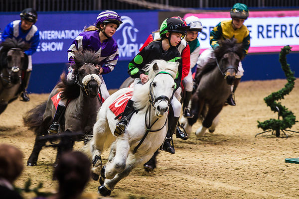 London International Horse Show December 2017