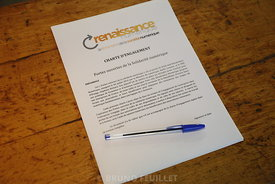 Signature de la Charte Orange Solidarité