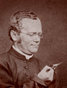 Historic photograph of Gregor Mendel