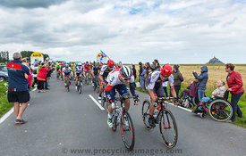 The Peolton at The Start of Tour de France 2016