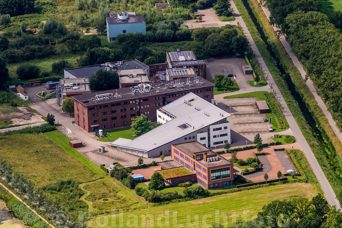 Wageningen - Luchtfoto Agro Business Park