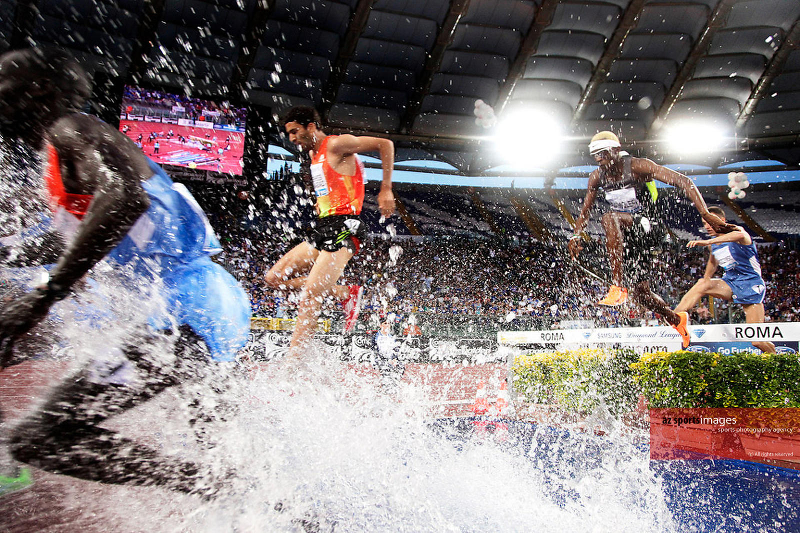 Diamond League, Rome.3000m Steeple Chase.