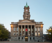 A Single Poppy at Birkenhead Town Hall