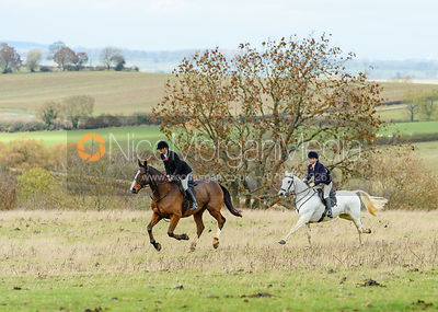 Bee Bell, Jo Rutter at Stone Lodge. The Cottesmore Hunt at Tilton