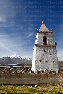 Santo Tomás church belfry, Isluga village, Isluga National Park, Region I, Chile