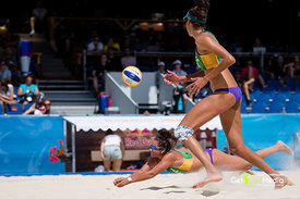 Artacho - Clancy (AUS) vs Laboureur - Sude (GER)