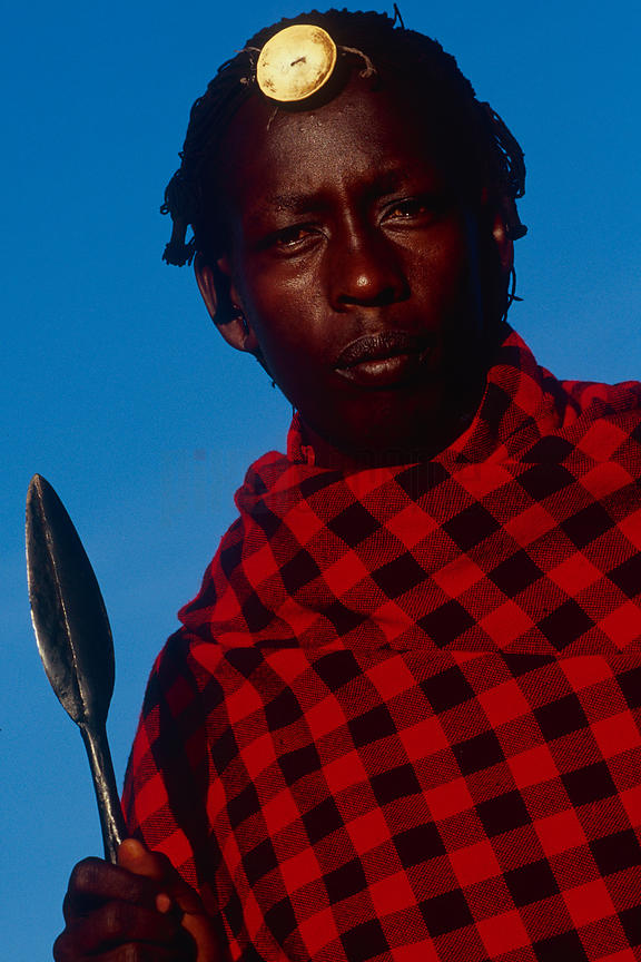 Portrait of a Masai Warrior