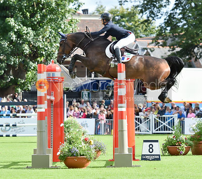 Marie Hecart and Cenwood Delle Lame  - FEI Nations Cup, Dublin Horse Show 2017