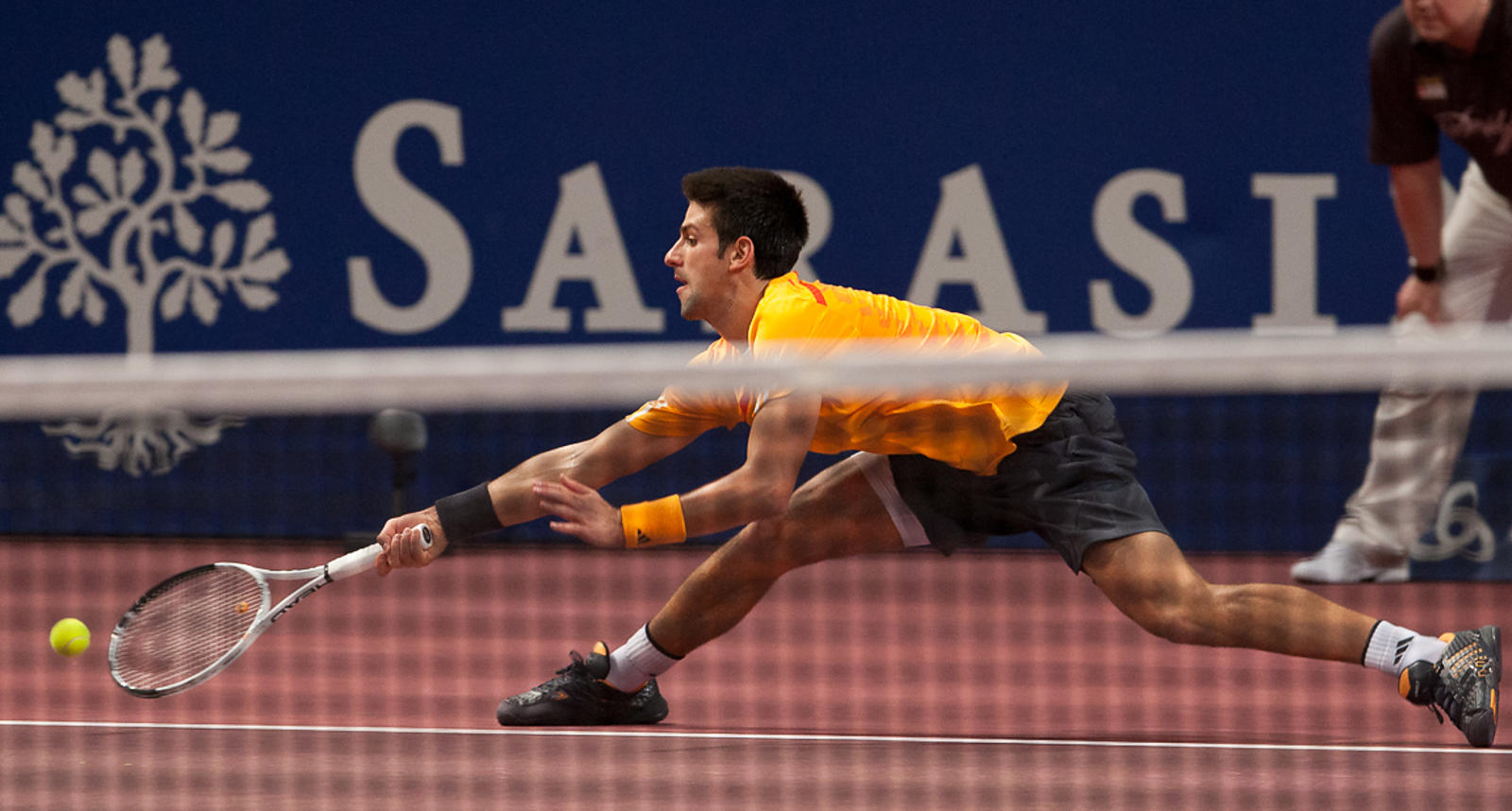 Basel: ATP Tournament Novak Djokovic vs Radek Stepanek