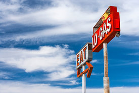 'Eat Lo Gas'  California 2006:  Photographer: Neil Emmerson. £975 inc UK VAT