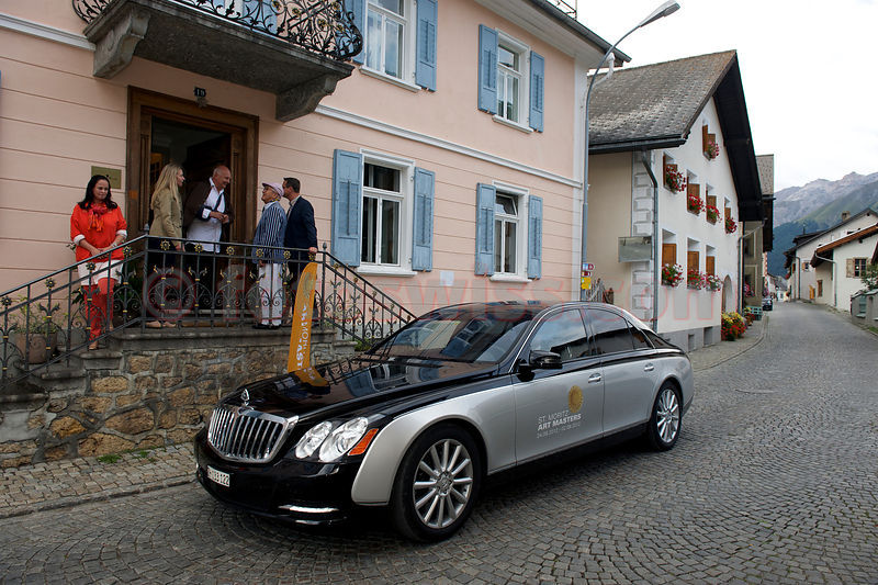"SAM St.Moritz Art Masters 2012 Vernissage of ""Herzschuss"" by Rolf Sachs"