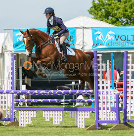 Lydia Hannon and CASTLERICHMOND STAR, Fairfax & Favor Rockingham Horse Trials 2018