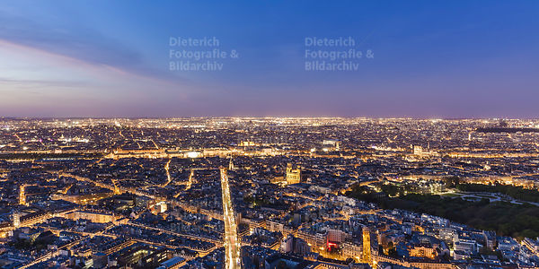 Stadtansicht, Skyline, Stadtzentrum, Paris