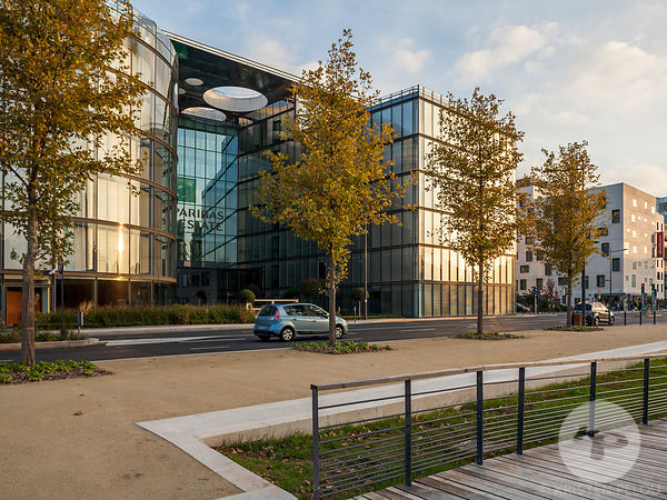 Architecture photographer Paris - BNP REAL ESTATE HEADQUATER - Photo ©Kristen Pelou