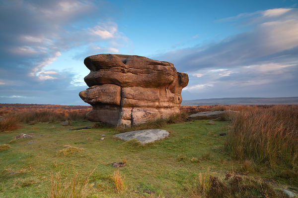 Eagle Stone on Baslow Edge