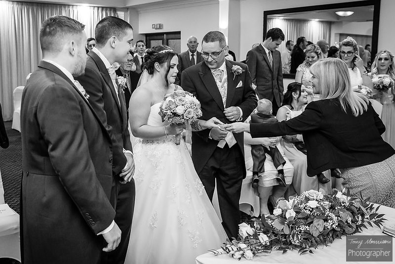 Sketchley Grange Hotel Wedding Photos – Katy & Nathan's Wedding - October 2018 photos