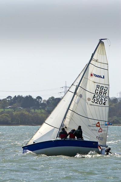 GBR 3204 Laser SB3 sail4cancer