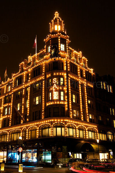 Harrods by Night